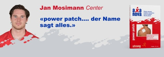 Jan Mosimann Power Patch